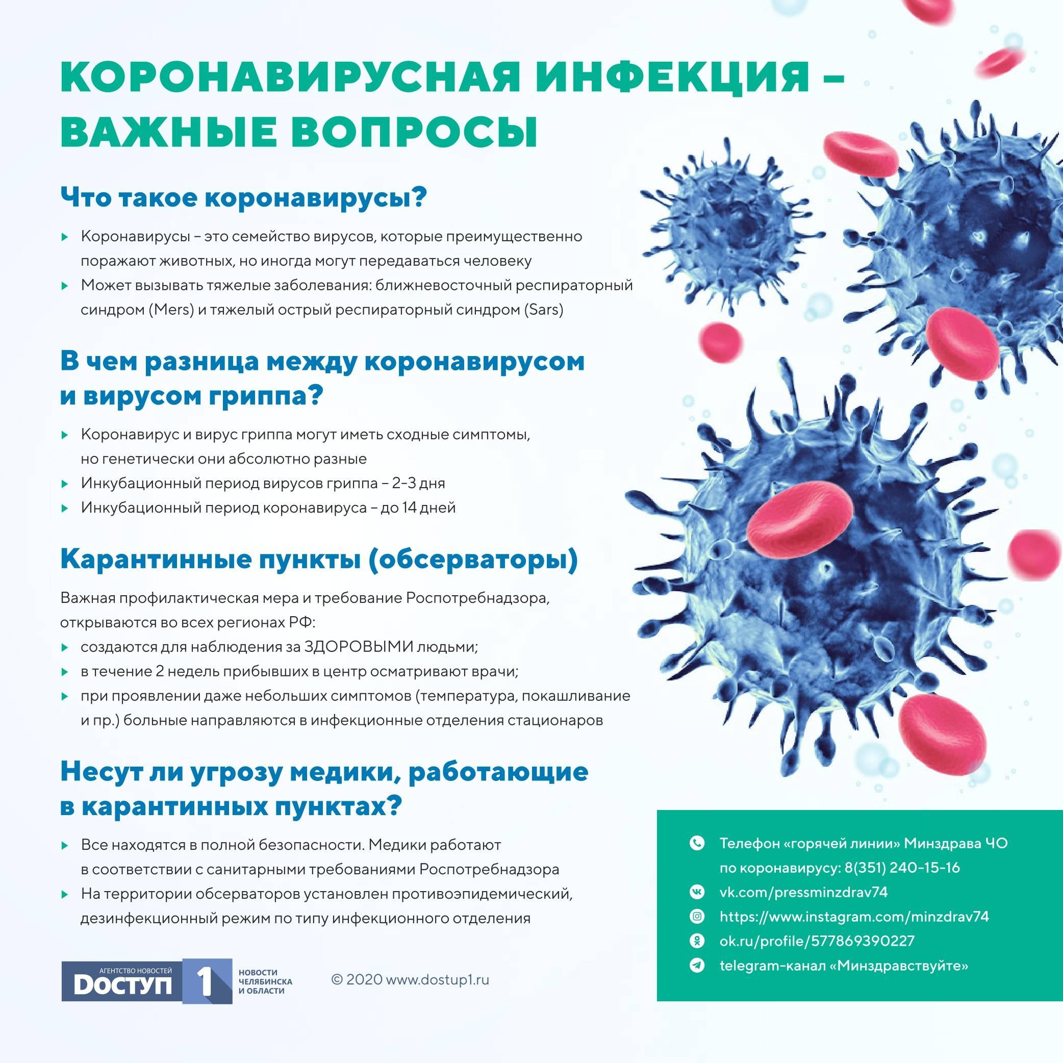 Вирусолог рассказал, как отличить коронавирус от орви