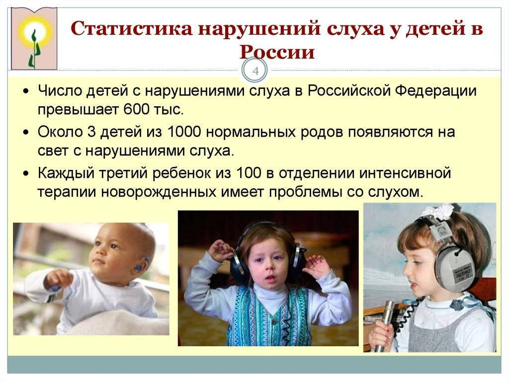 Этиология нарушения слуха и речи у глухих и слабослышащих детей