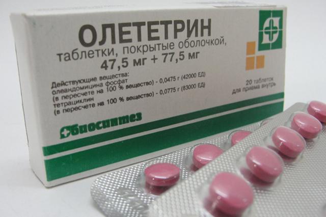 От чего помогает и как принимать таблетки олететрин: инструкция по применению