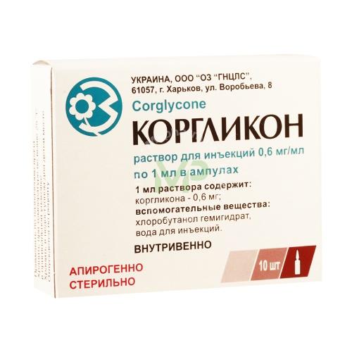 Описание препарата коргликон, инструкция по его применению и возможные побочные эффекты