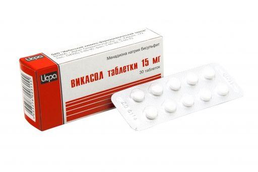 От чего помогают таблетки «викасол». инструкция по применению