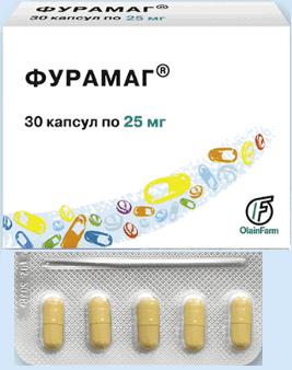 Таблетки 25 мг и 50 мг фурамаг: инструкция, цена и отзывы