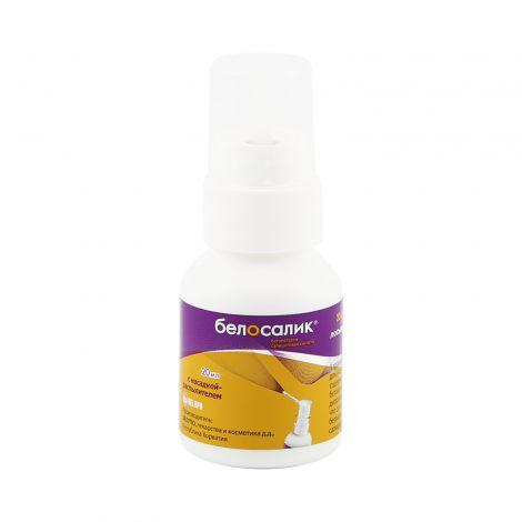 Препарат белосалик быстро устраняет воспаления кожи