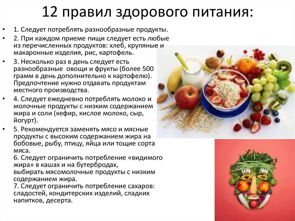 копнуть чуть правила здорового питания в картинках которой она предстала