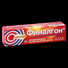 Финалгон: инструкция по применению, аналоги и отзывы, цены в аптеках россии