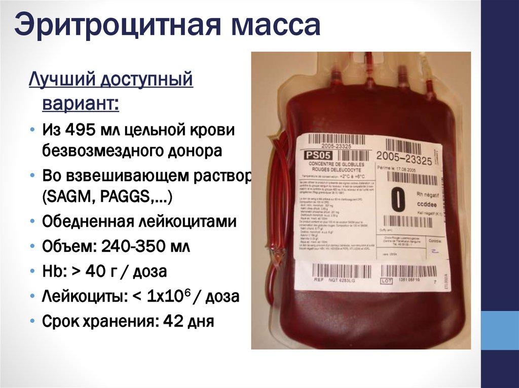 Переливание крови (гемотрансфузия): цели и показания, разновидности, процедура, последствия
