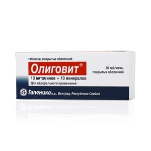 Олиговит - комплекс для нормализации общего фона организма