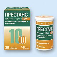 Престанс: инструкция по применению, аналоги и отзывы, цены в аптеках россии