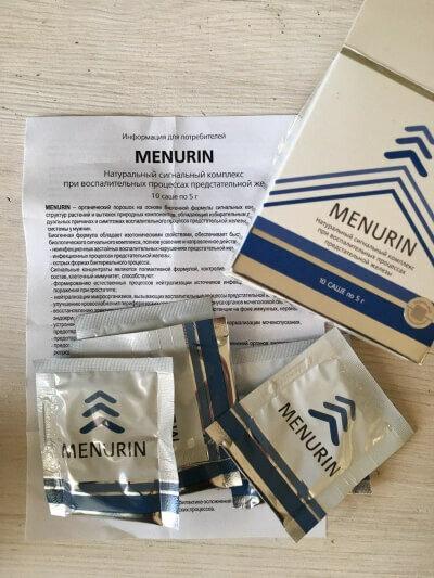 Препарат менурин — развод от сашера мед, реальные отзывы