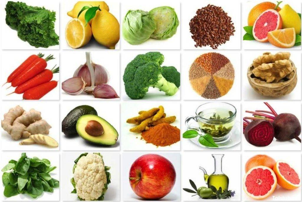 Какие овощи можно есть при химической диете