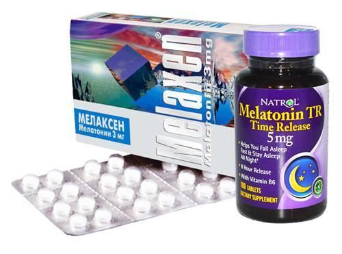 Мелатонин: инструкция по применению таблеток для сна