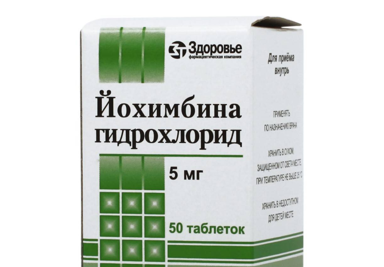 От простатита йохимбин простатит высыпание на головке