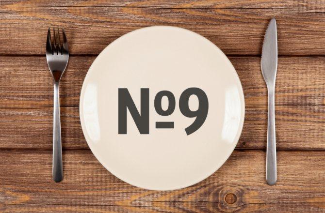 Диета номер 9: особенности лечебной методики при сахарном диабете 2 типа