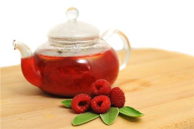 Как пить чай с малиной при кашле