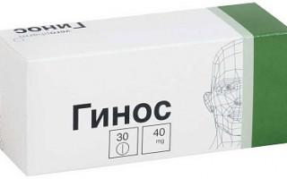 Гинкоум: инструкция по применению, аналоги и отзывы, цены в аптеках россии