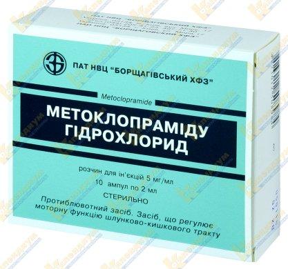 Метоклопрамид: как принимать, дозировка