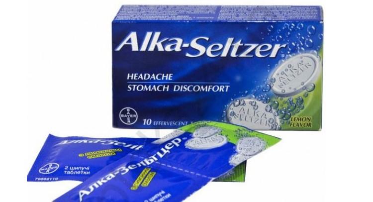 Алка-зельтцер (алкозельцер), средство от похмелья. из чего состоит и чем помогает