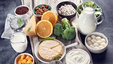 В каких продуктах содержания кальция больше всего