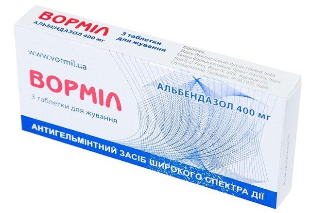 Эффективность альбендазола для детей при гельминтозах