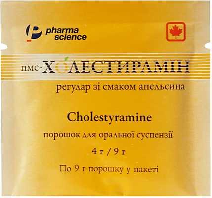 Холестирамин: инструкция по применению, показания, цены, отзывы