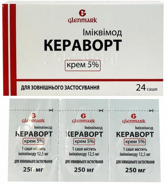 Кераворт: инструкция по применению, показания к лечению, цена