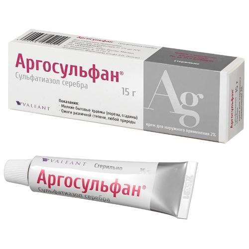 Аргосульфан: крем или мазь 2%