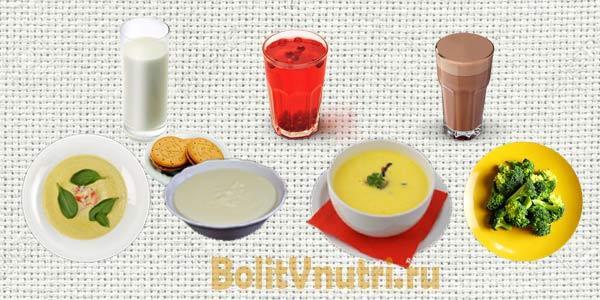 Диета при бульбите: рецепты и примерное меню на неделю