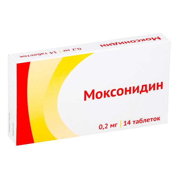 Моксонидин-акрихин — инструкция по применению