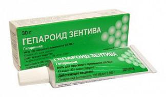 Мазь гепароид зентива, инструкция по применению