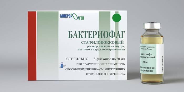 Бактериофаг стафилококковый – инструкция по применению, цена, отзывы