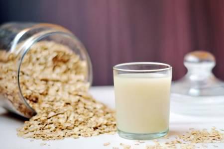 Овес с молоком от бронхита