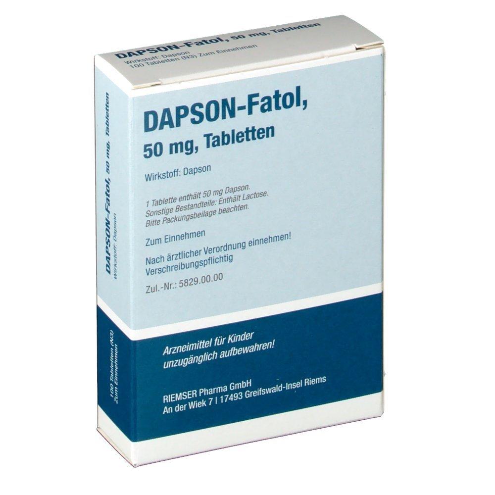 Дапсон-фатол - инструкция по применению, 1 аналог