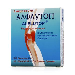 Аналоги алфлутопа для лечения позвоночника и суставов