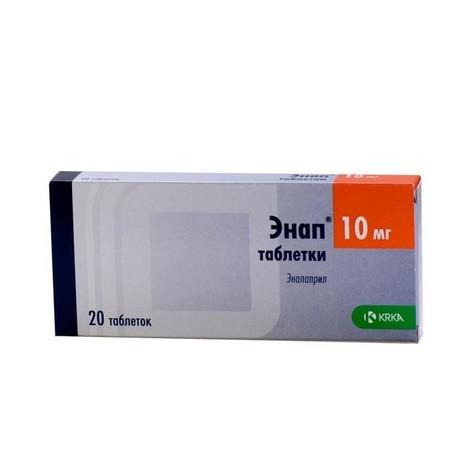 Подробная инструкция по применению таблеток энап нл