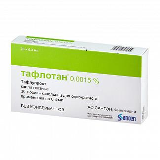 """Глазные капли """"тафлотан"""": особенности применения препарата"""