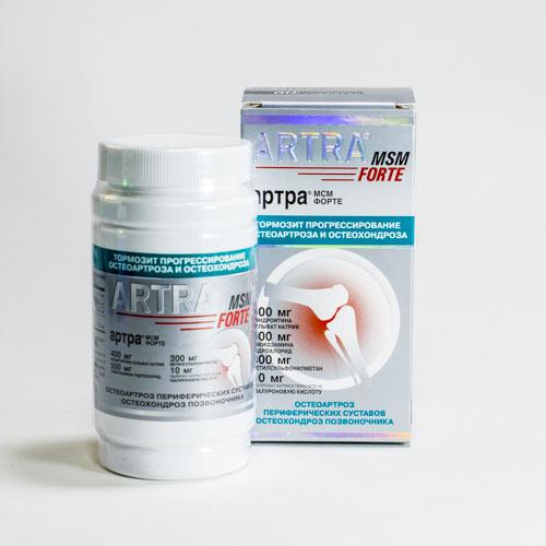 Как правильно принимать препарат артра мсм форте?