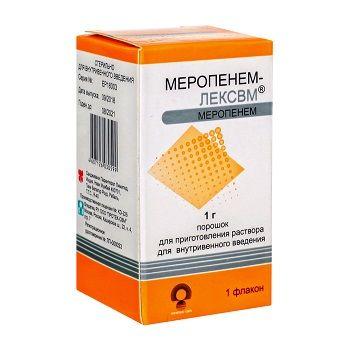 Меронем: способ применения, дозировка, побочные эффекты