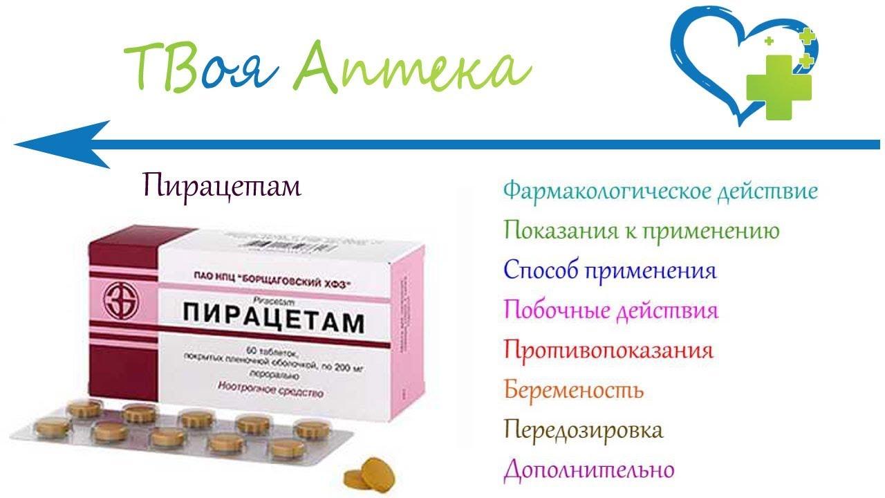 Пирацетам: инструкция по применению, аналоги и отзывы, цены в аптеках россии