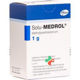 Солу-медрол: состав, показания, дозировка, побочные эффекты