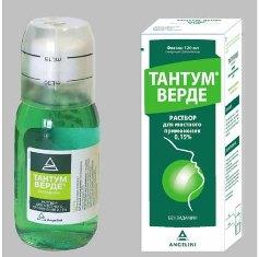 Лекарство от кашля тантум верде