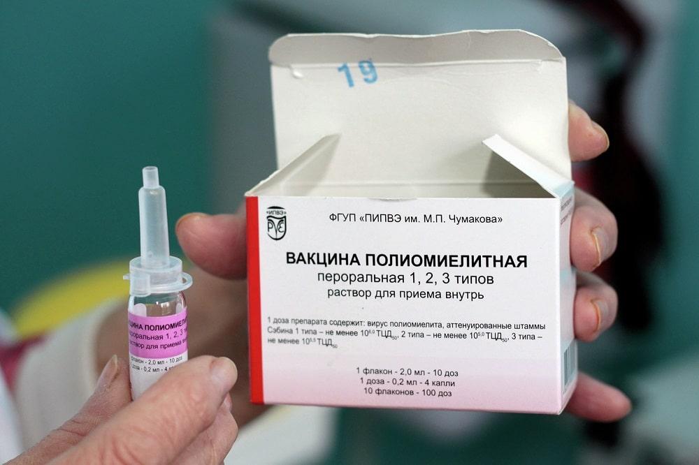 Осложнения и побочные действия прививки от полиомиелита