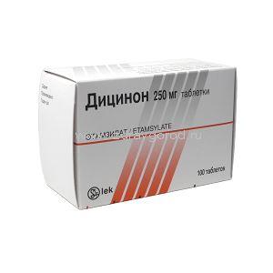 Уколы и таблетки дицинон: инструкция, цены и отзывы