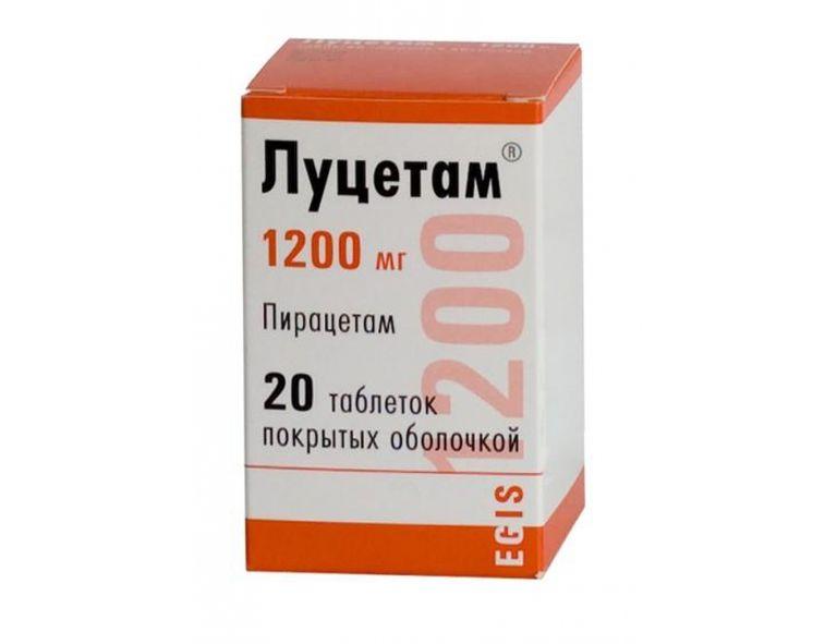 Ноотропил – лекарство для мозга