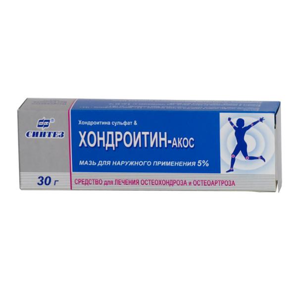 «хондроитин-акос»: инструкция по применению, аналоги и отзывы