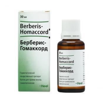 Берберис-гомаккорд – гомеопатический препарат, как принимать капли