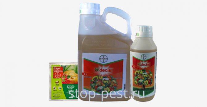 Инсектициды: инструкция по применению препаратов против вредителей