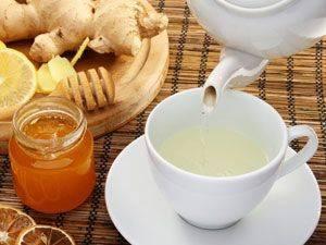 Имбирный чай с лимоном от простуды