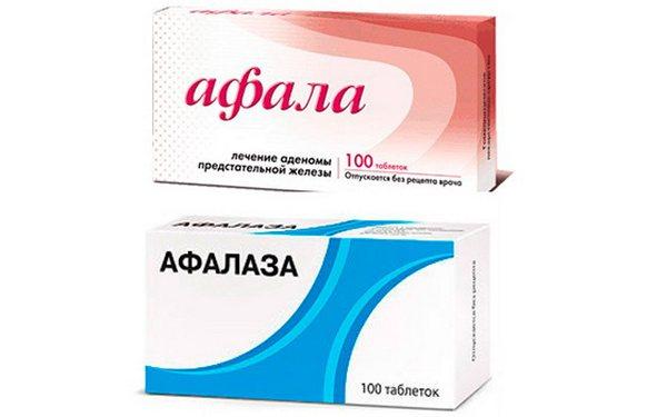 Афала от простатита: особенности таблеток и схема лечения