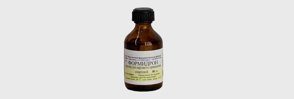 Формидрон – инструкция по применению при лечении грибка и от потливости ног, состав, побочные эффекты и цена