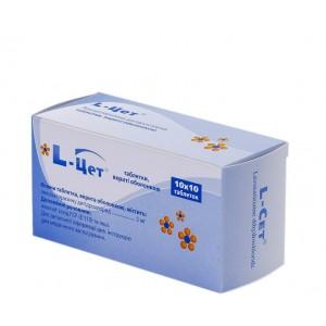 L-цет - лекарственный препарат. описание, показания l-цет, способ применения, дозировка.